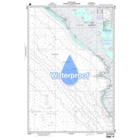Region 2 - Central, South America :Waterproof NGA Chart 21540: Corinto to Punta Guiones