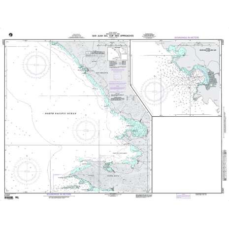 Region 2 - Central, South America :NGA Chart 21547: San Juan del Sur and Approaches