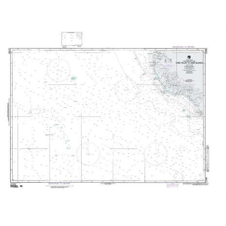 Region 2 - Central, South America :NGA Chart 21550: Cabo Velas to Cabo Blanco Costa Rica