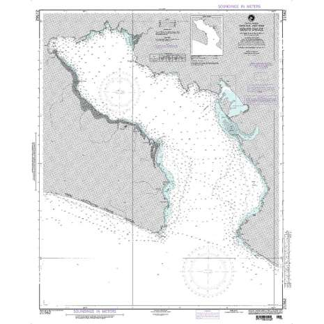 Region 2 - Central, South America :NGA Chart 21562: Golfo Dulce
