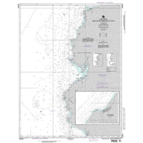 Region 2 - Central, South America, NGA Chart 22004: Cabo de San Francisco to Paita