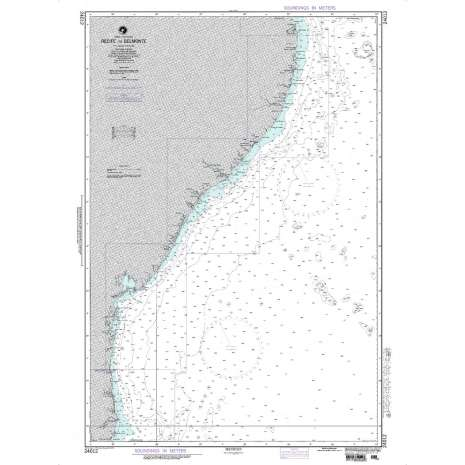 Region 2 - Central, South America :NGA Chart 24012: Recife to Belmonte