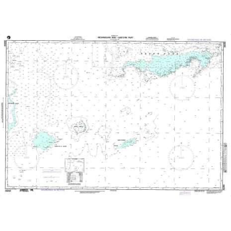 Region 2 - Central, South America, NGA Chart 26050: Nicaraguan Rise -  - Eastern Part
