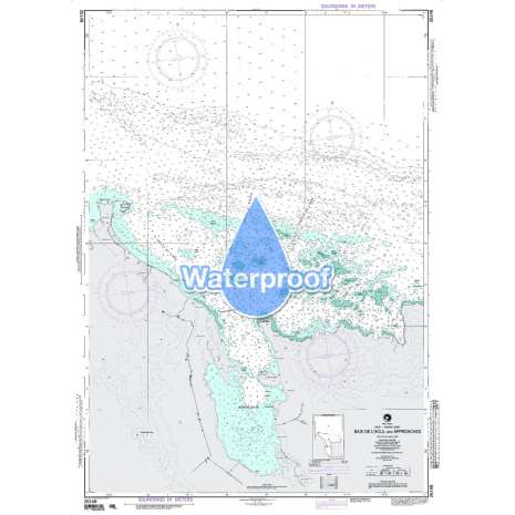 Region 2 - Central, South America :Waterproof NGA Chart 26148: Baie de Lacul and Appraoches