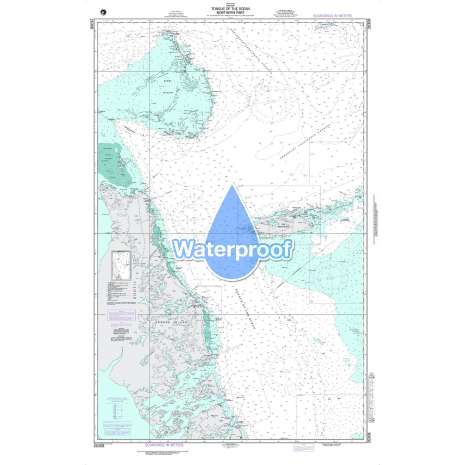 Region 2 - Central, South America :Waterproof NGA Chart 26308: Tongue of the Ocean - Northern Part