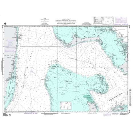 Region 2 - Central, South America :NGA Chart 26320: N. Prt Strait of Fla. and Nw Providence