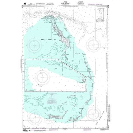Region 2 - Central, South America :NGA Chart 26328: West Indies - the Bahamas - Berry Islands