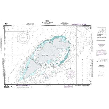 Region 2 - Central, South America :NGA Chart 28125: Isla de Guanaja