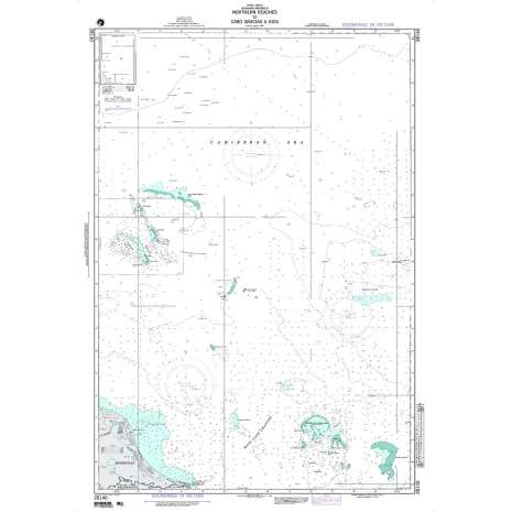 Region 2 - Central, South America :NGA Chart 28140: Northern Reaches to Cabo Gracias A Dios
