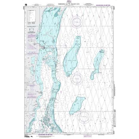 Region 2 - Central, South America :NGA Chart 28167: Ambergis Cay to Pelican Cays