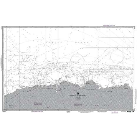 Region 2 - Central, South America :NGA Chart 29018: Porpoise Bay to West Ice Shelf