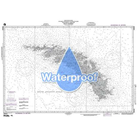 Region 2 - Central, South America :Waterproof NGA Chart 29040: South Georgia
