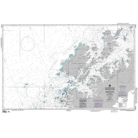 Region 2 - Central, South America :NGA Chart 29122: Argentine Islands to Brabant Islands