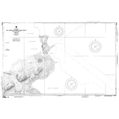 Region 2 - Central, South America, NGA Chart 29324: New Hbr and Marble P Vicinity Mcmurdo S