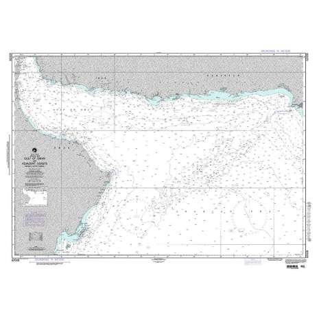 Region 6 - Eastern Africa, Southern & Western Asia, NGA Chart 62028: Gulf of Oman and Adjacent Coasts
