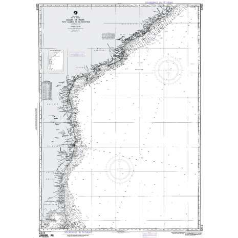Region 6 - Eastern Africa, Southern & Western Asia :NGA Chart 63015: Calimere Point to Kalingapatam