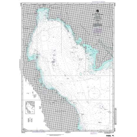 Region 9 - Eastern Asia, South Eastern Russia, Philippines :NGA Chart 93010: Gulf of Thailand