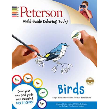 Birds :Peterson Field Guide Coloring Books: Birds
