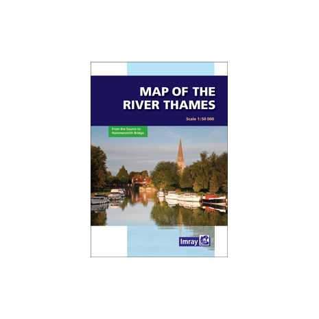 Imray Guides, Map of the River Thames