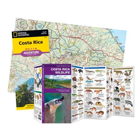 Mexico, Central and South America Travel & Recreation :Costa Rica Adventure Set
