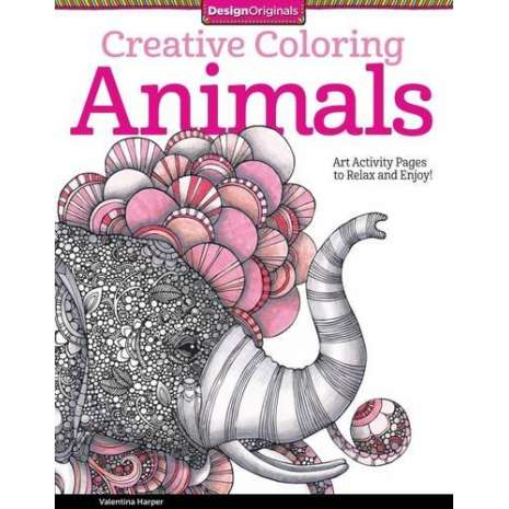 Adult Coloring Books, Creative Coloring Animals