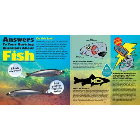 Fish, Sealife, Aquatic Creatures :Do Fish Fart?: Answers to Kids' Questions About Lakes