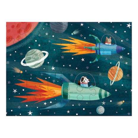 Models & Puzzles :Puzzle to Go: Outer Space