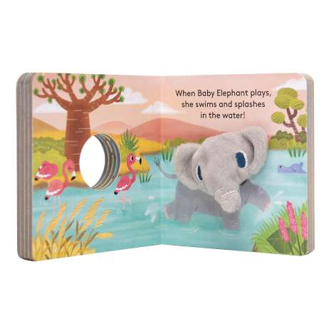 Finger Puppet Books, Baby Elephant: Finger Puppet Book