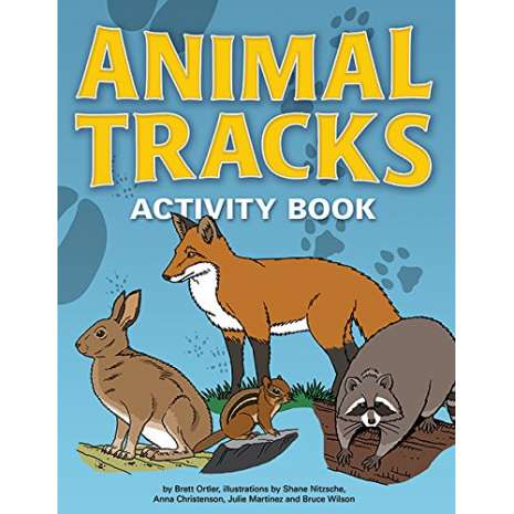 Children's Outdoors, Animal Tracks Activity Book