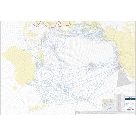 Planning Charts :FAA Chart: North Pacific Route Chart Set FLAT