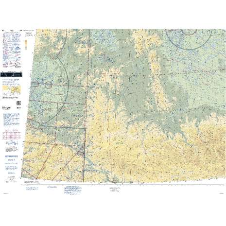 Sectional Charts, FAA Chart: VFR Sectional DAWSON
