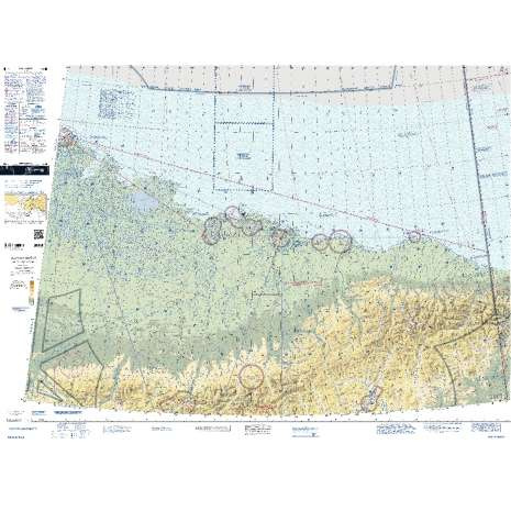 Sectional Charts, FAA Chart: VFR Sectional POINT BARROW