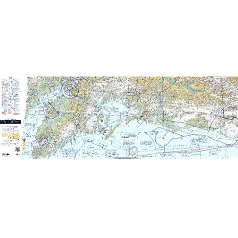 Sectional Charts, FAA Chart: VFR Sectional SEWARD