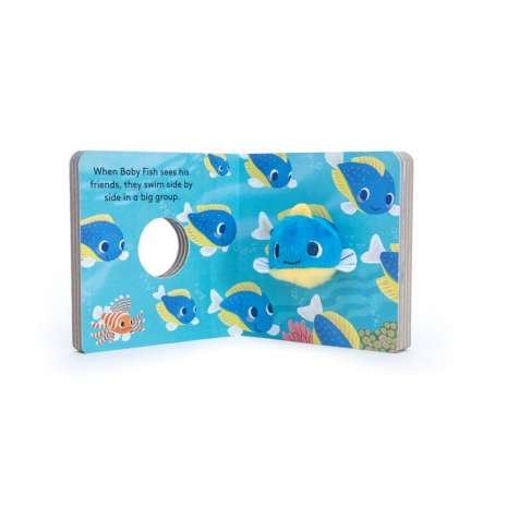 Board Books, Baby Fish: Finger Puppet Book