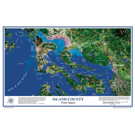 Placemat Charts :ISLAND COUNTY Placemat