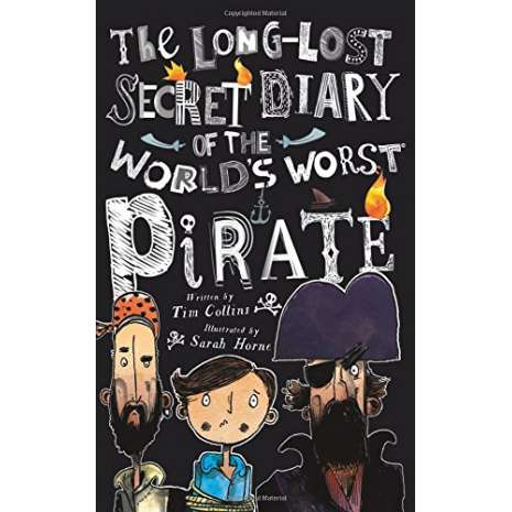 Pirates, The Long-lost Secret Diary of the World's Worst Pirate
