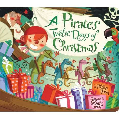 Pirates, Pirate's Twelve Days of Christmas BOARD