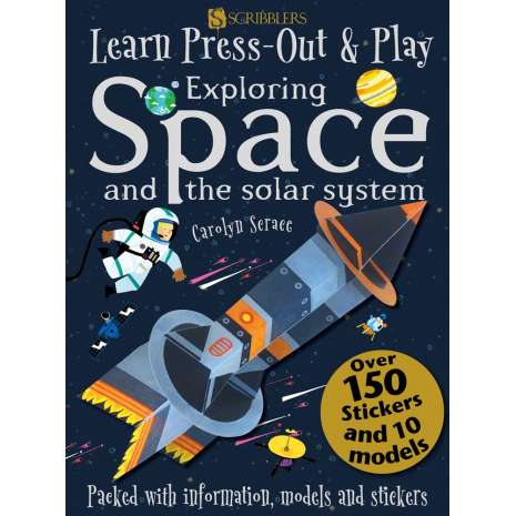 Space & Astronomy for Kids, Learn, Press-Out & Play: Exploring Space and the Solar System