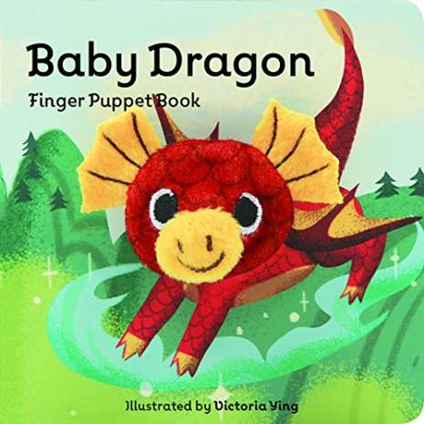 Finger Puppet Books, Baby Dragon: Finger Puppet Book
