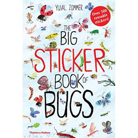 Butterflies, Bugs & Spiders :The Big Sticker Book of Bugs