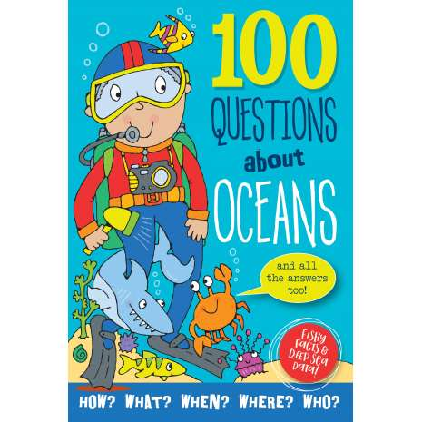 Ocean & Seashore :100 Questions About Oceans