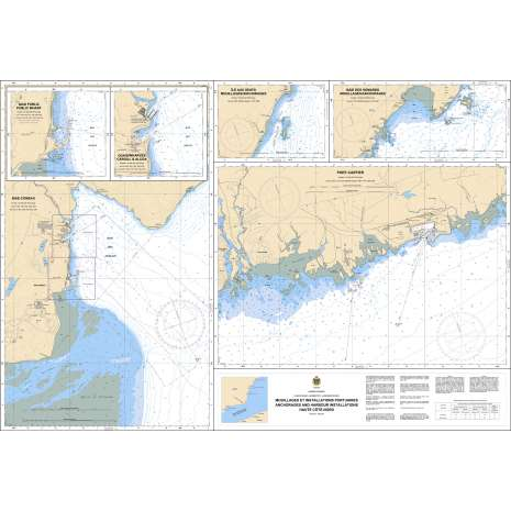 Quebec Region Charts :CHS Chart 1226: Mouillages et Installations Portuaires/Anchorages and Harbour Installations - Haute Côte-Nord