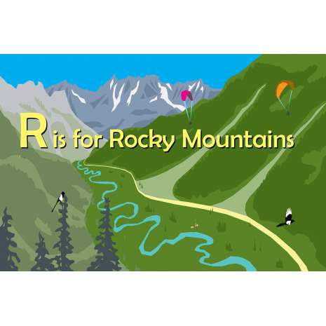 Geography & Maps, R Is for Rocky Mountains