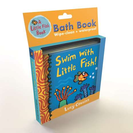 Board Books: Aquarium, Swim with Little Fish!: Bath Book