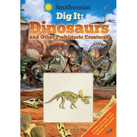 Activity Books: Dinos, Smithsonian Dig It: Dinosaurs & Other Prehistoric Creatures