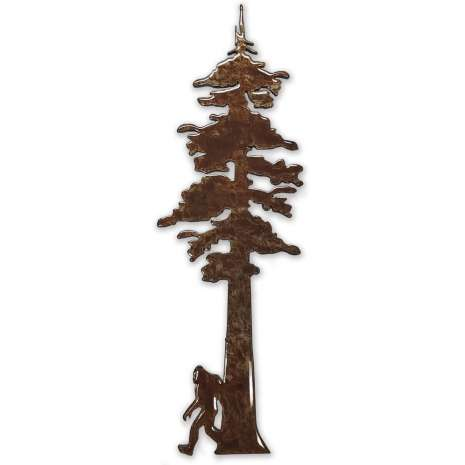 Bigfoot, Sasquatch, Redwood Tree w/ Bigfoot MAGNET