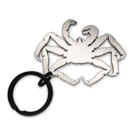 Bottle Openers & Keychains :King Crab KEYCHAIN BOTTLE OPENER