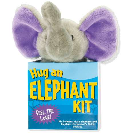 Jungle & Zoo Animals, Hug an Elephant Kit