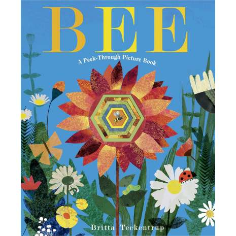 Butterflies, Bugs & Spiders :Bee: A Peek-Through Picture Book
