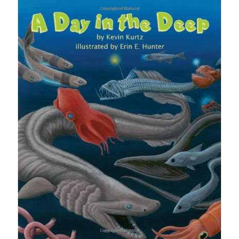 Books for Aquarium Gift Shops :A Day in the Deep